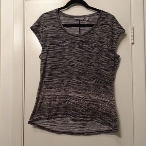 Athleta Workout Top | Heather Black | Large